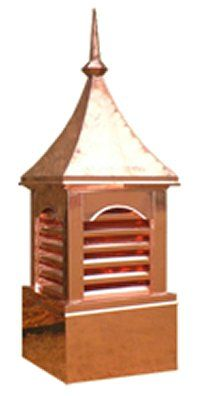Six Vent Curve Top Cupola 24x70 Cupolas Copper Roof Chimney Cap