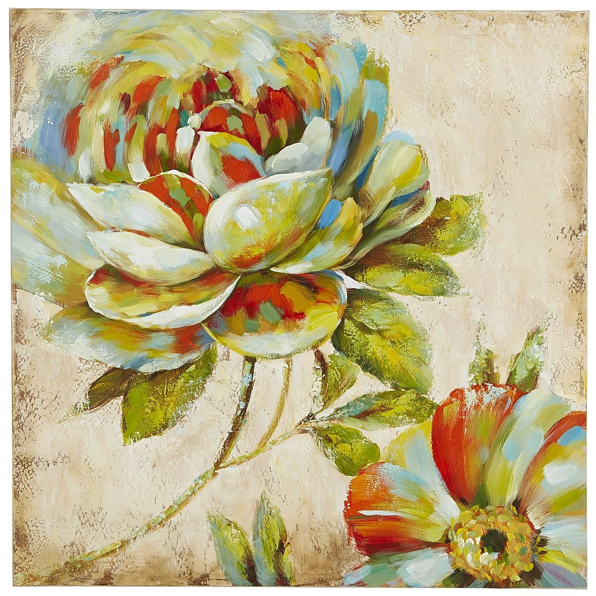 Quirky Flowers Art | Pier 1 Imports | Art Pieces | Pinterest ...
