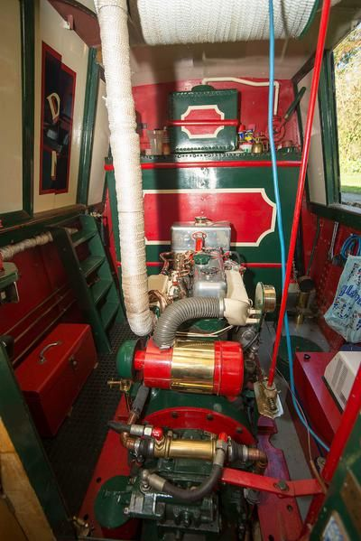The Engine Room Design: Engine Room - Dolphin 1924