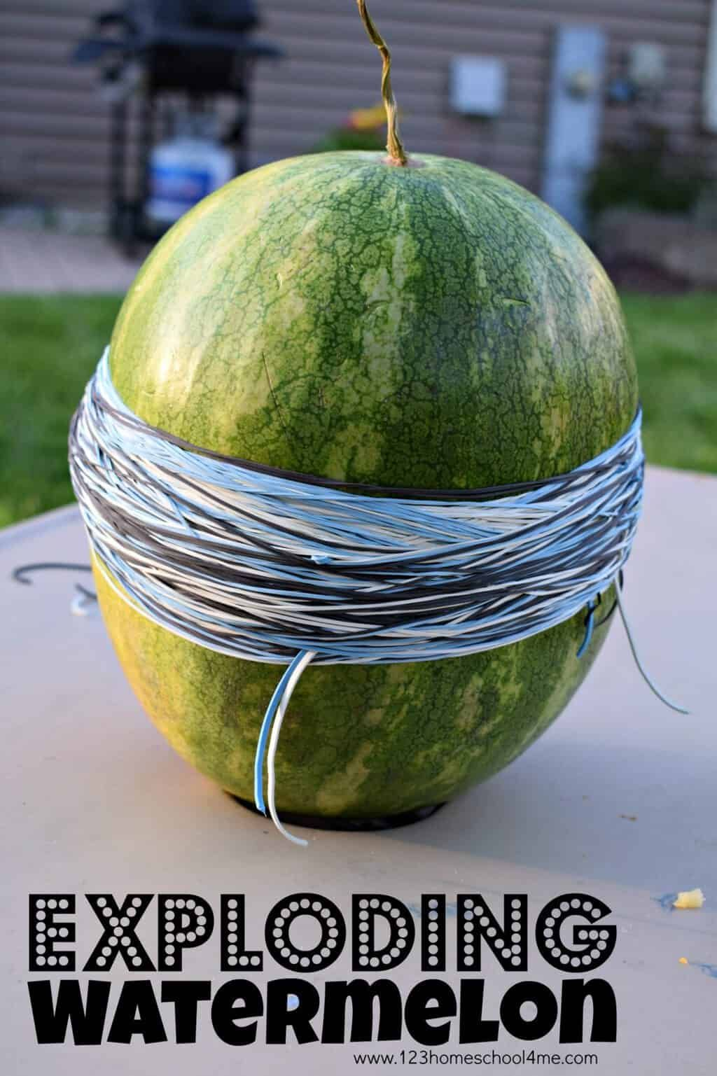Exploding Watermelon Science
