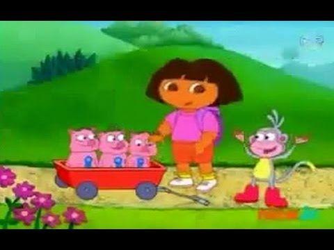 Dora Aventureira Os Tres Porquinhos Portugues Completo Em Hd