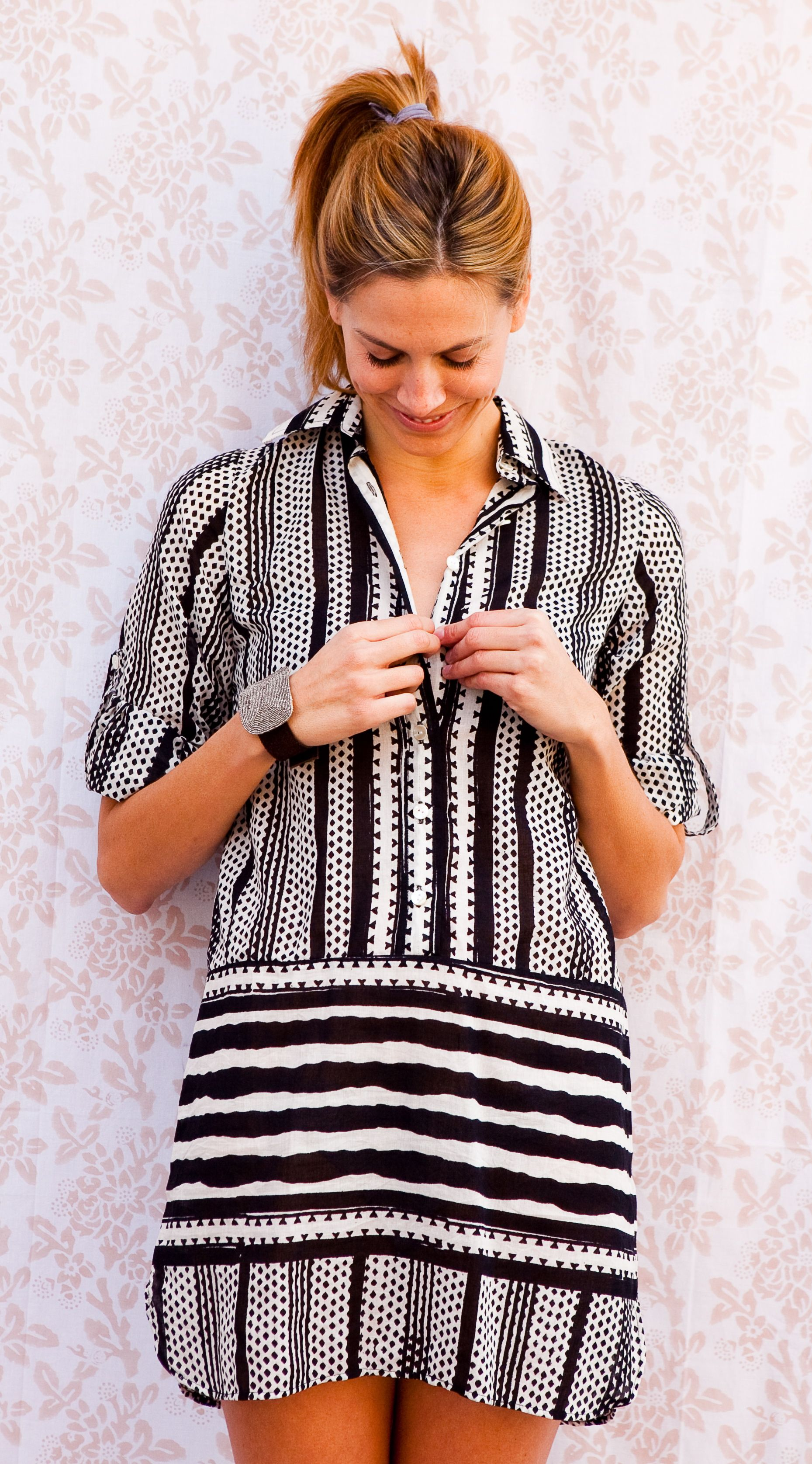Shirt Dress -  Kerry Cassill Collection