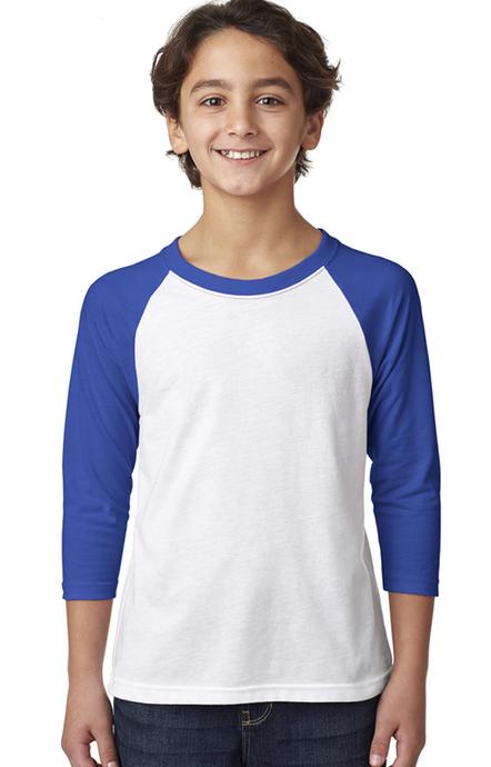 LAT Youth Kids Boys Girls Tees Tops Vintage Football T-Shirt 6137