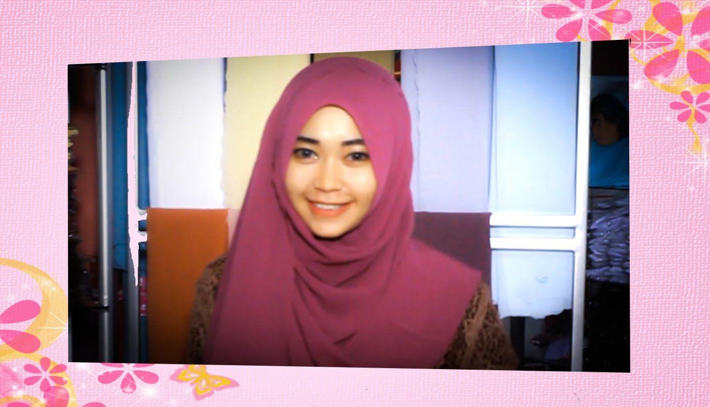 Tutorial Hijab Pashmina Selendang Zahira Hijab Pinterest