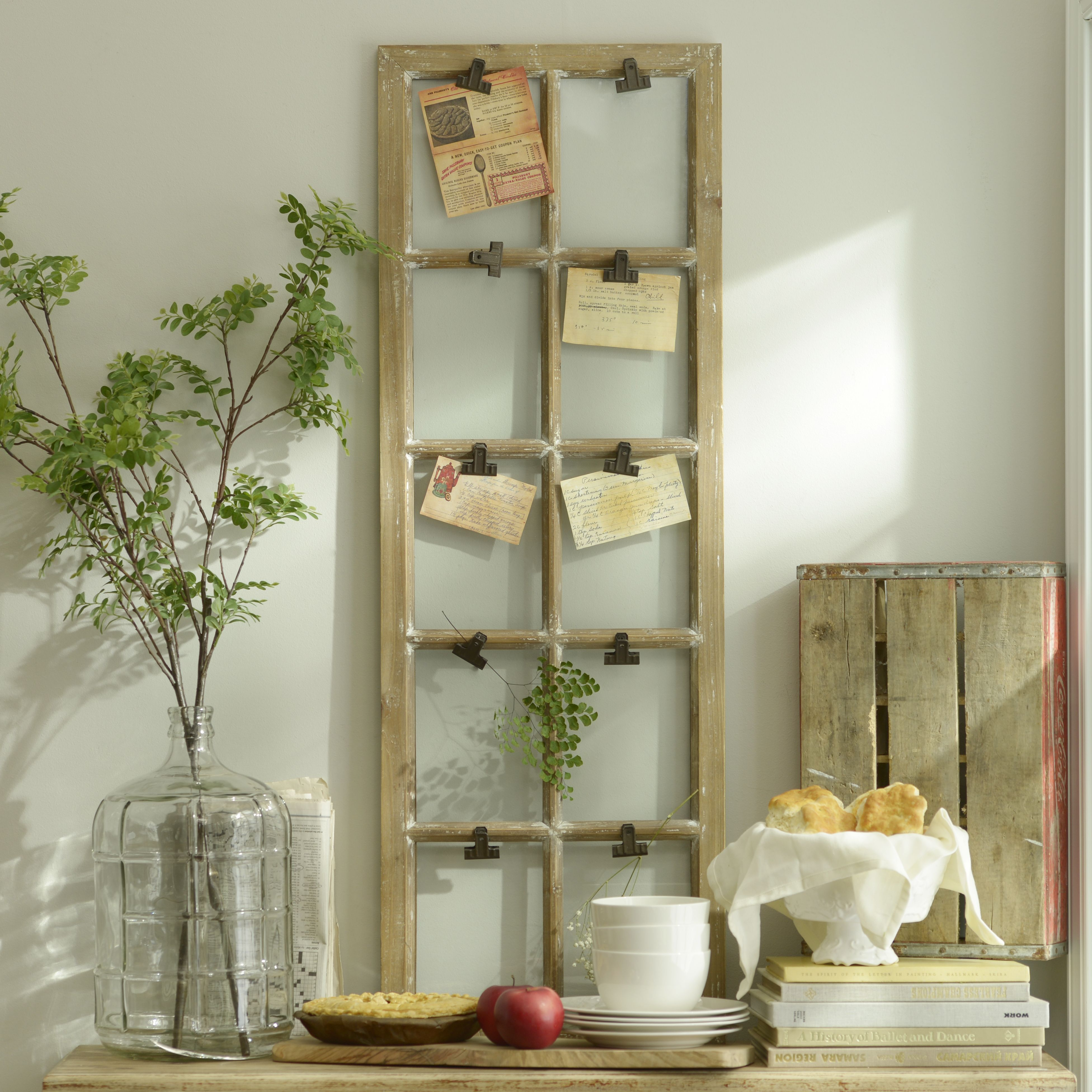 Window Pane Wall Decor distressed window pane clip collage frame | collage, window and