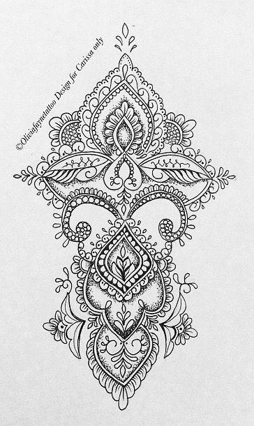 Tattoo Vorlage | Tattoos & Henna | Pinterest | Tattoo, Mandala and Tatoo