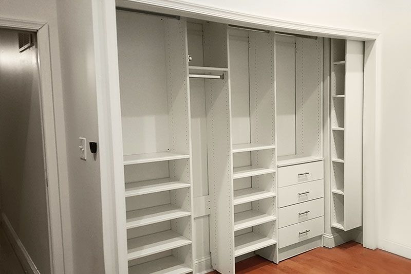 Custom Reach In Closets Add Exceptional Organization To Your
