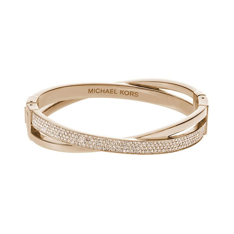 Michael Kors Jewelry Online Bestellen Bangle Rose Gold Crossover O Keefe Jewerly Number Searching