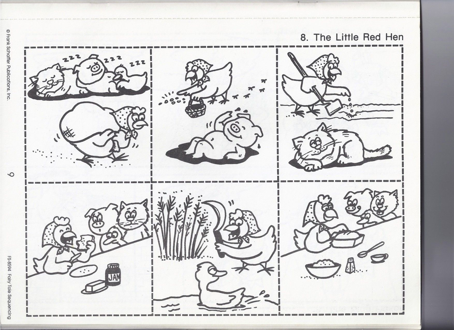 The Little Red Hen | Red hen, Kindergarten and Activities