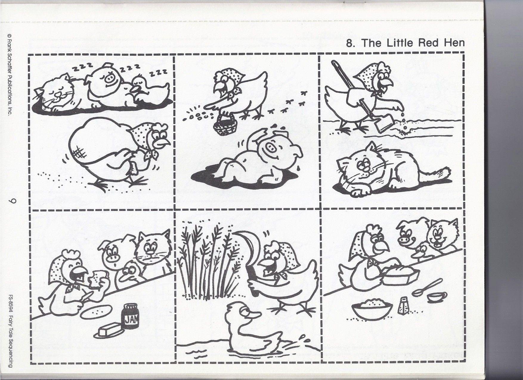 The Little Red Hen Little Red Hen Little Red Hen Activities