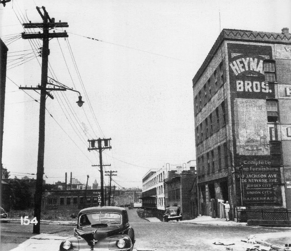 Streets Of Jersey City New Jersey Ca 1940s 1950s Jersey City New Jersey Beaches Photo