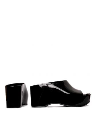 L'Autre Chose Slip-ons - lucido silver black DXnt9uUiz