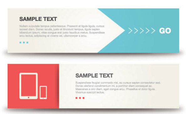Fresh banner design template vector material | Download PSD, EPS ...