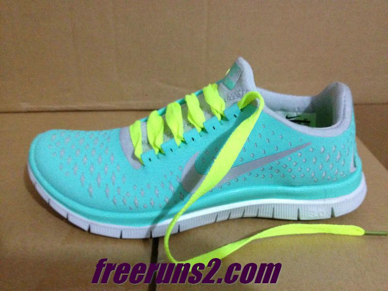best authentic 82674 9df32 Nike Free 3.0 V4 Mens Tropical Twist Reflective Silver Pro Platinum Volt  Lace Shoes
