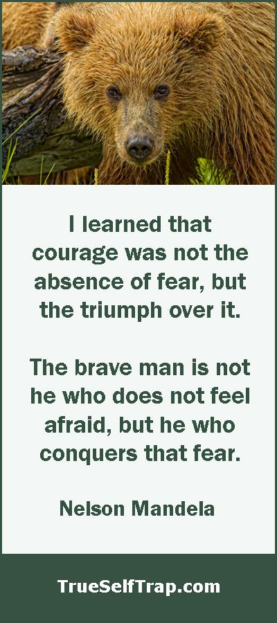 Nelson Mandela Quote On Courage. U201cI Learned That Courage Was Not The  Absence Of
