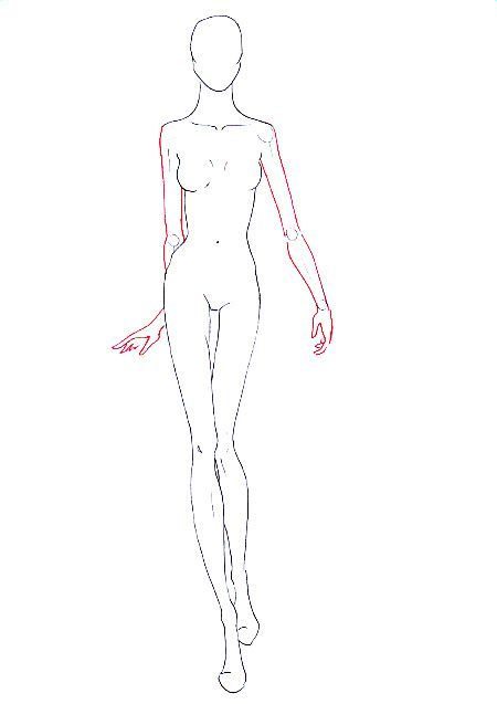 How to draw walking pose step 11   Sketch   Pinterest   Best ...