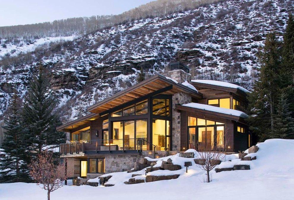 Luxury mountain homes colorado exterior rustic with mountain