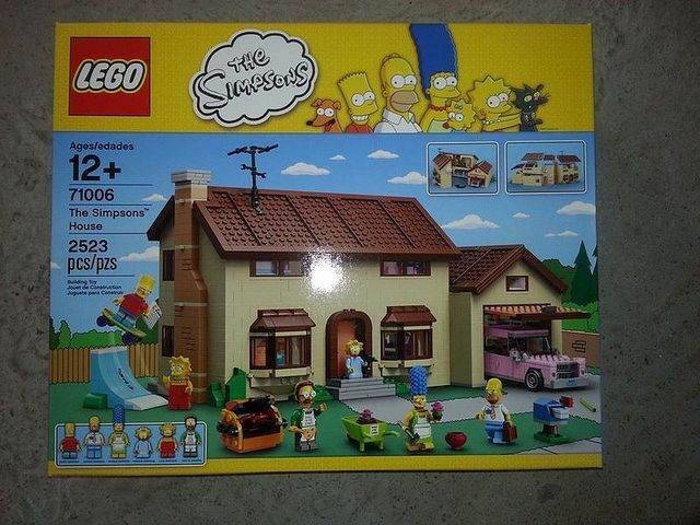 First picture of LEGO 71006 - The Simpsons House coming from 2014!