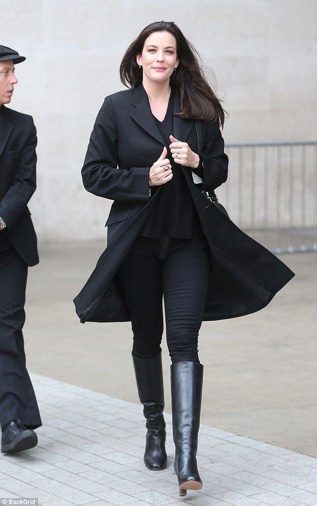 Wonderbaarlijk Radiant Liv Tyler can't contain her smile | LIV LUV | Rocker GG-91