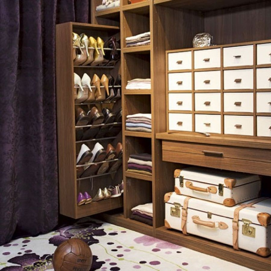 Clever storage ideas for small spaces - 50 Ways To Fight Back Against Shoe Clutter Clever Storage Ideascreative