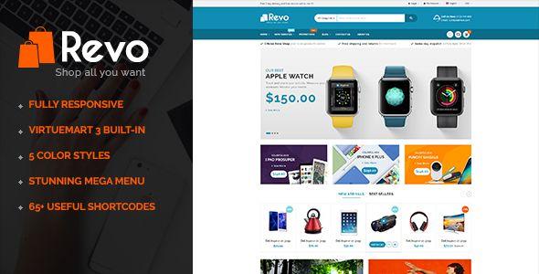 Revo - Multipurpose eCommerce VirtueMart 3 Joomla Template (Retail) - http://wpskull.com/revo-multipurpose-ecommerce-virtuemart-3-joomla-template-retail/wordpress-offers