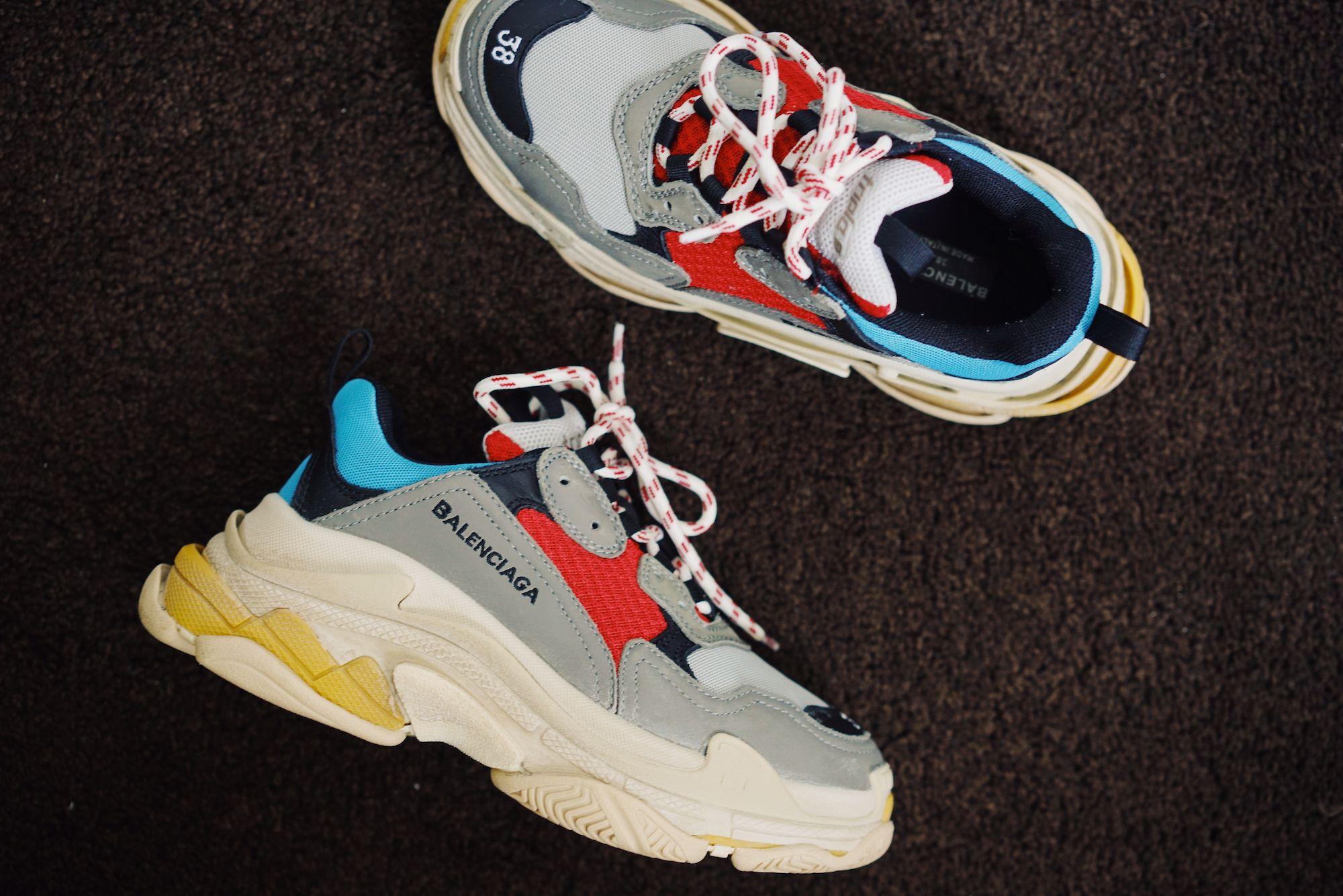 aa9abce5e9d linn-eklund-blogg-elle-balenciaga-triple-s | Sneaker in 2019 ...
