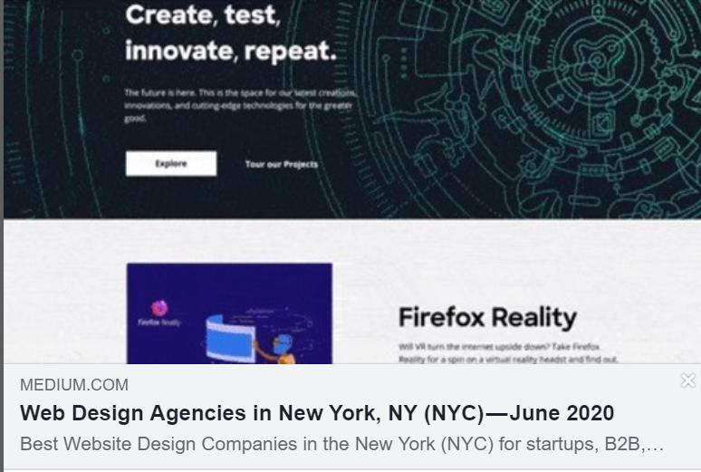 Web Design Agencies In New York Ny Nyc September 2020 In 2020 Web Design Agency Web Design Top Website Designs