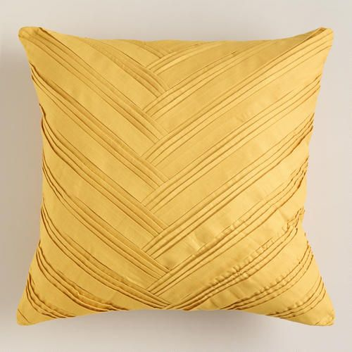 Yellow Origami Throw Pillow Throw Pillows Pillows