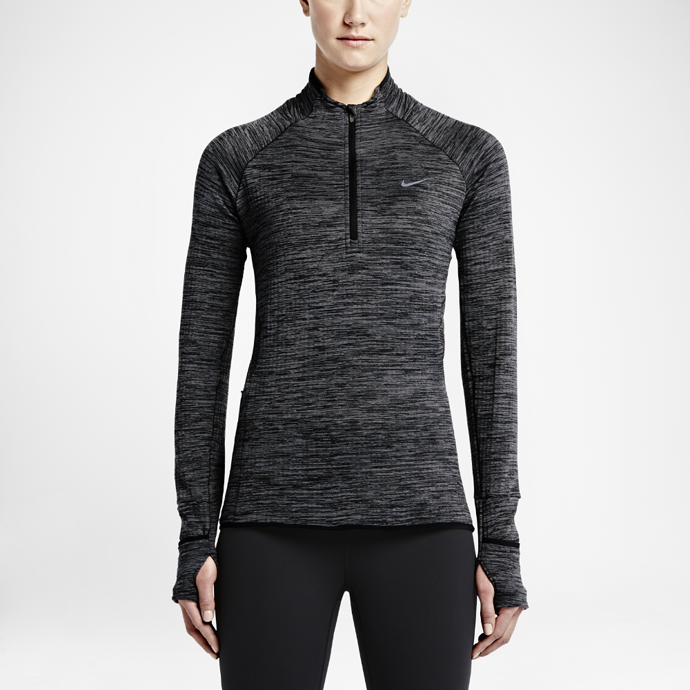 Nike Sphere Element Women's Half Zip Long Sleeve Running Top