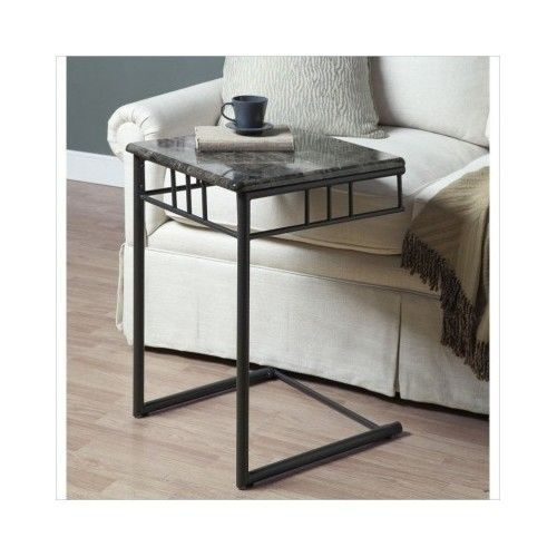 Snack Tray Table Tv Slide Under Couch Sofa Chair Side End