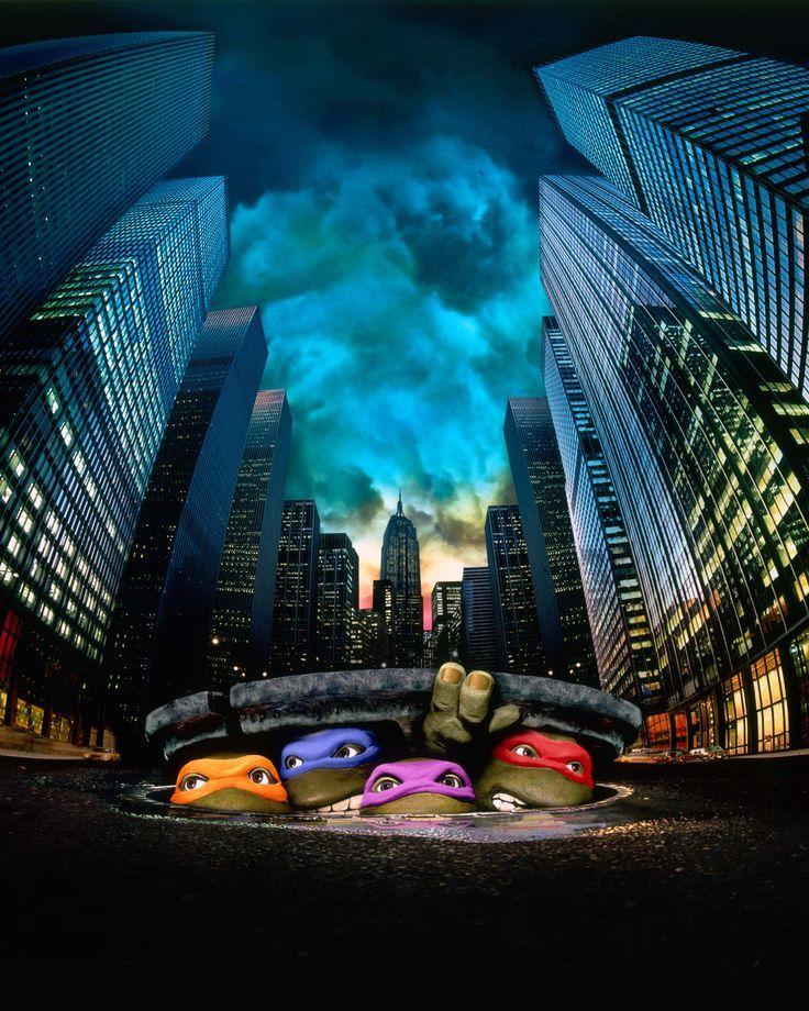 Tmnt 1990 Movie Poster Teenage Mutant Ninja Turtles 1990 Teenage Mutant Ninja Turtles Movie Ninja Turtles Movie Ninja Turtles
