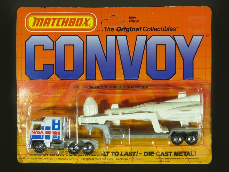 1983 Matchbox Convoy Nasa Rocket Transporter Colecionador Es Caixas De Fósforos Carros De Brinquedo Carros