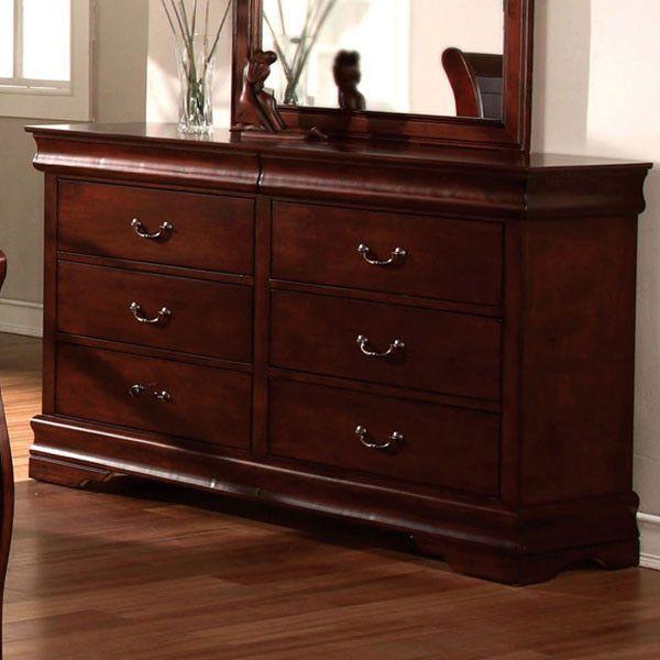 Louis Phillipe Classic Cottage Style Cherry Finish Bedroom Dresser Deco Furniture Pinterest