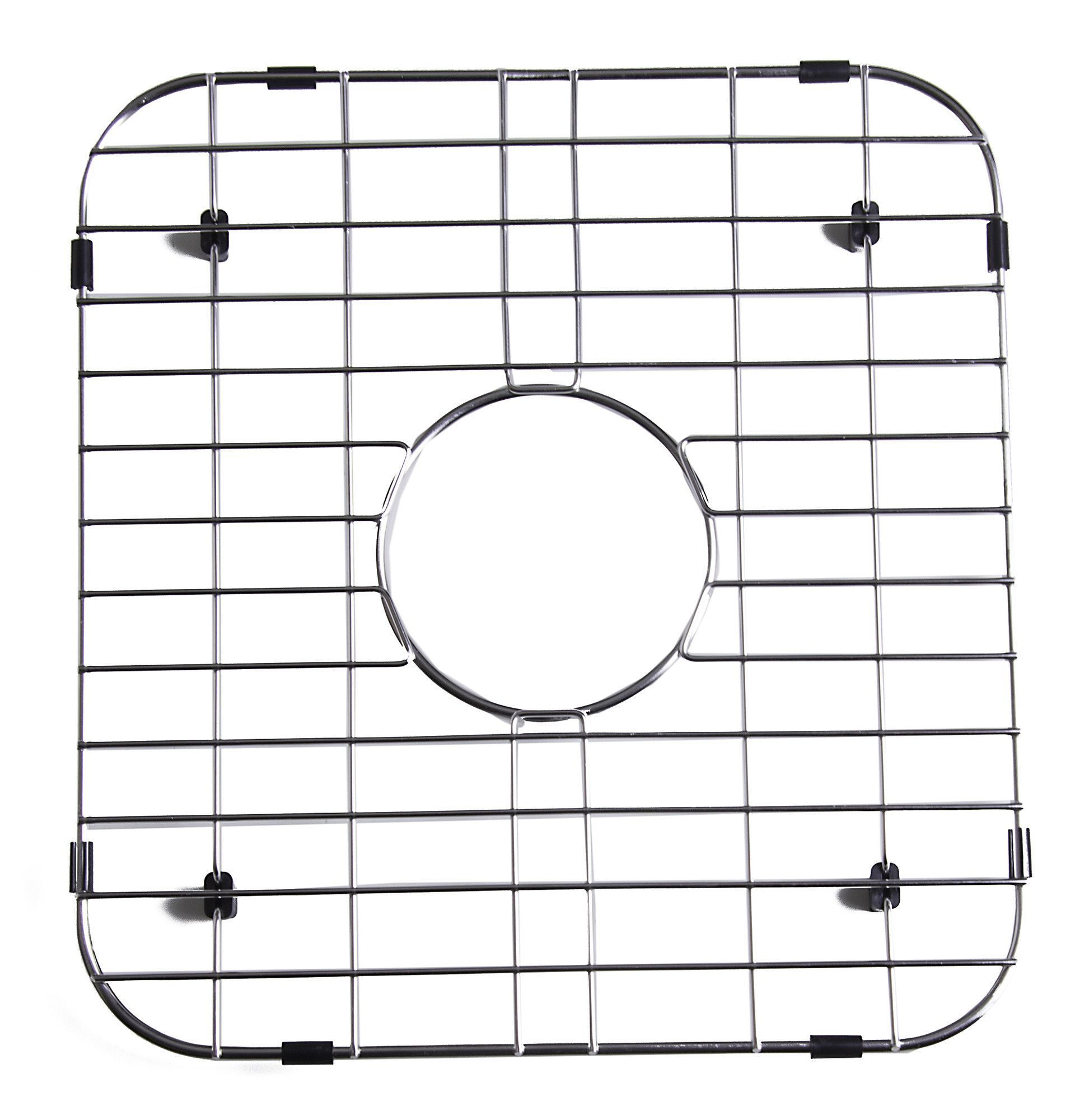 Bon ALFI Brand GR3318 Solid Stainless Steel Kitchen Sink Grid