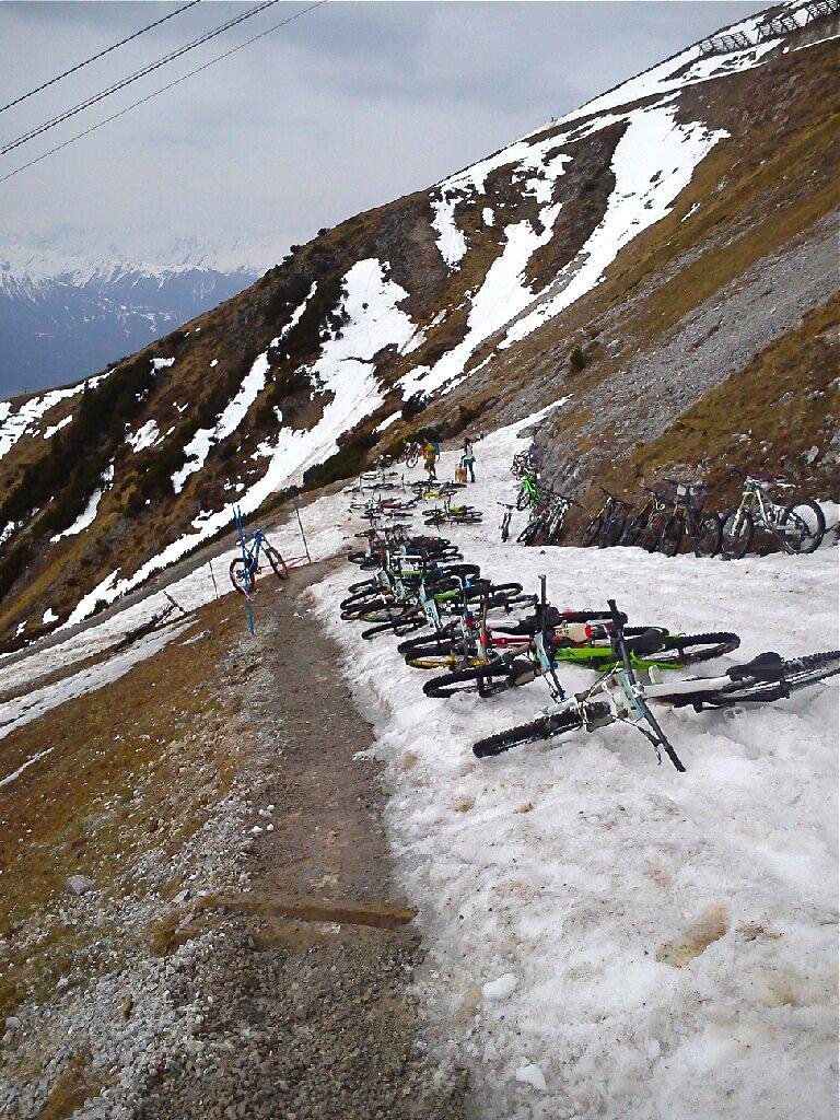 Nordkette Quartett Race In Innsbruck 5th April 2014 Austria