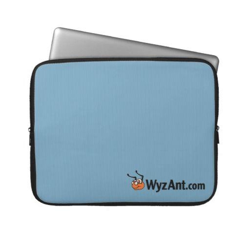 WyzAnt Logo Neoprene Laptop Sleeve 15 inch