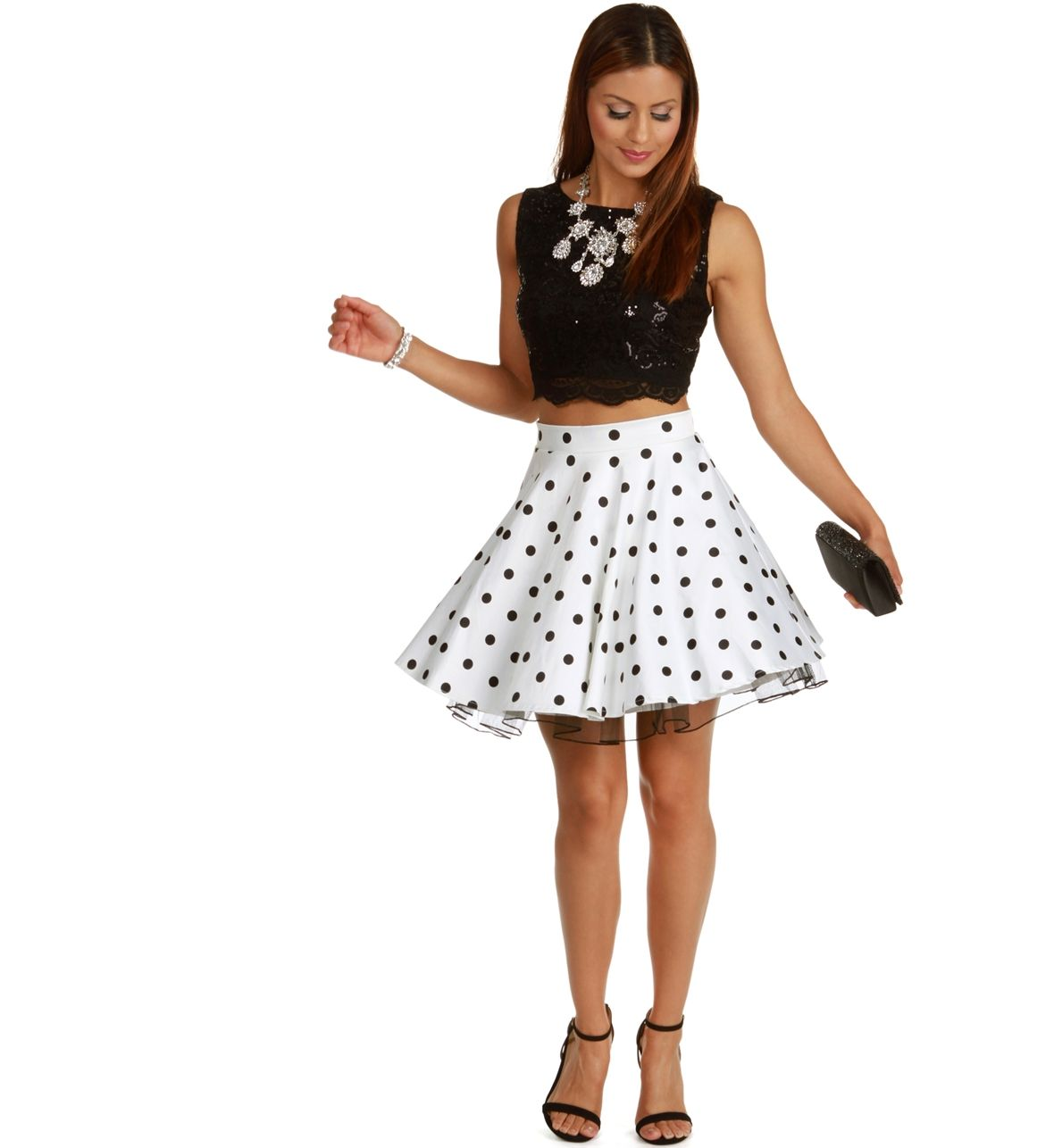 Dare to be different? Mix up your look with this super flirty two ...