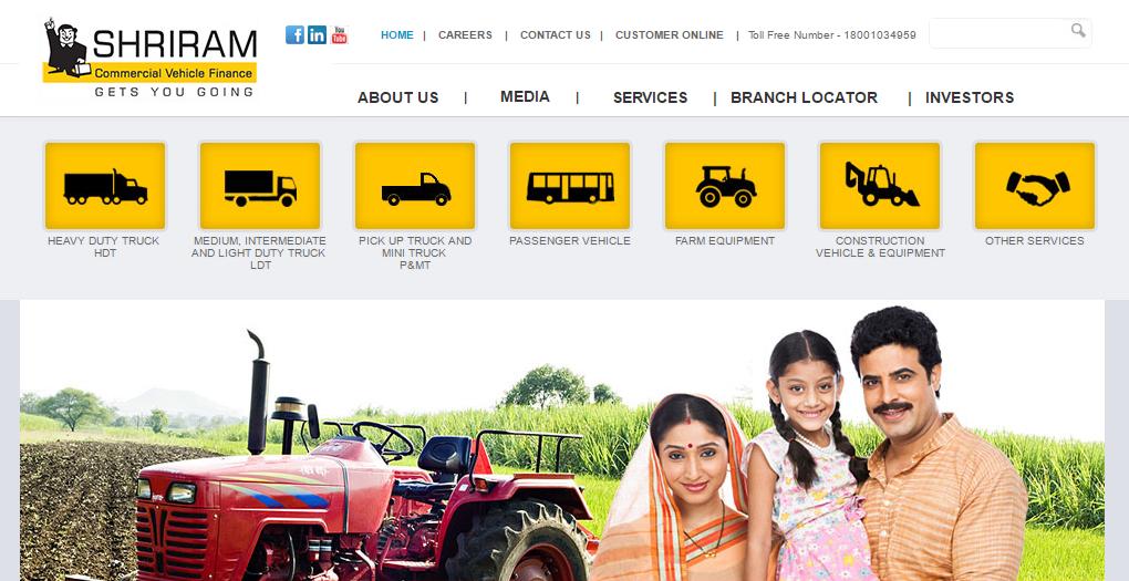 Shriram Transport Finance Company Ltd Fixed Deposit Rates Finance Commercial Vehicle Transportation