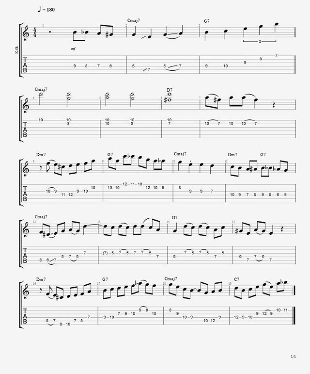 Sheet Music For Knowing Me Knowing You: Here Is The Transcription Of The Video I Posted Yesterday