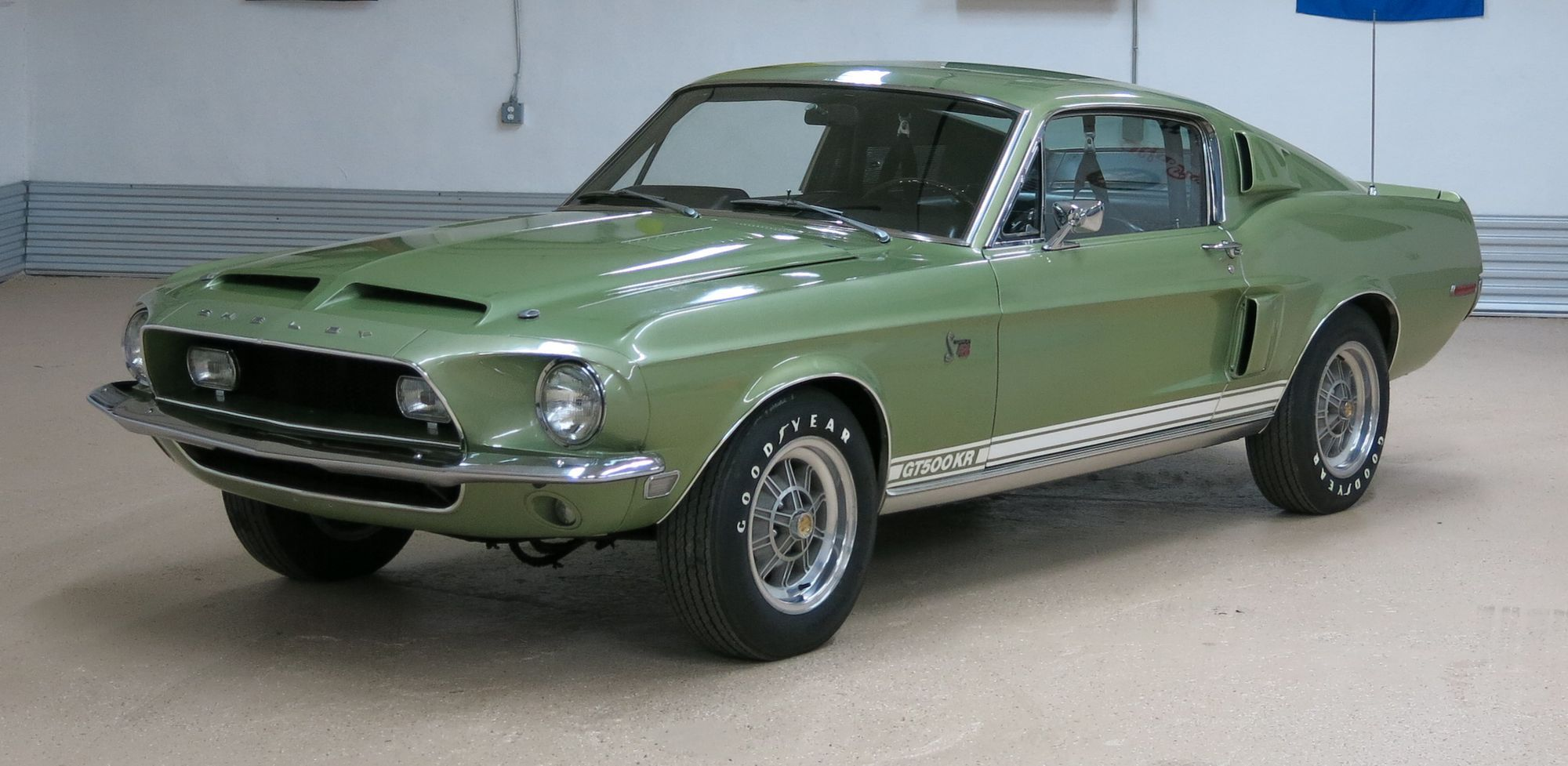 Time Capsule 1968 Shelby G T 500 Kr Cracks The Top 10 In Classic