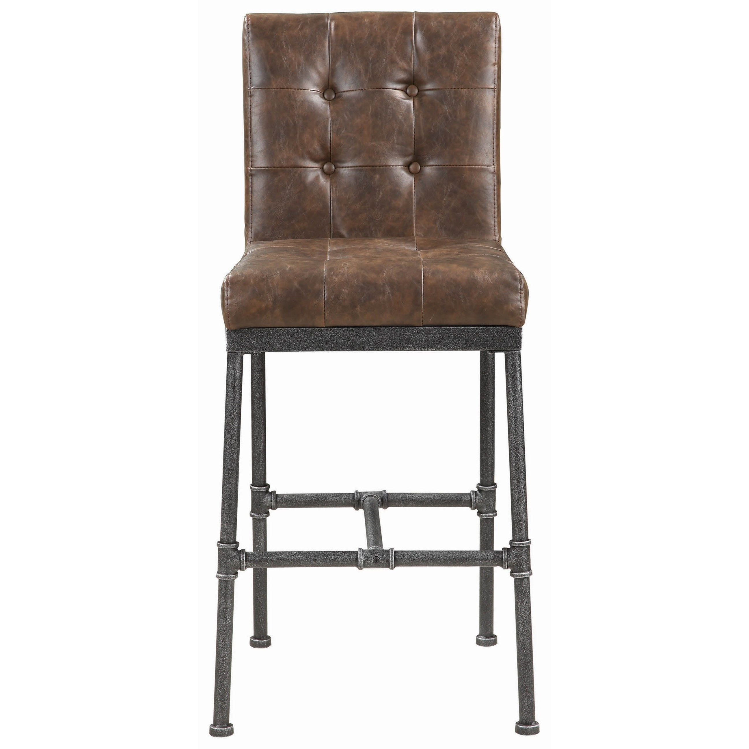 Heaton Bar Stool By Scott Living At Great American Home Store Bar Stools Industrial Bar Stools Bar Furniture