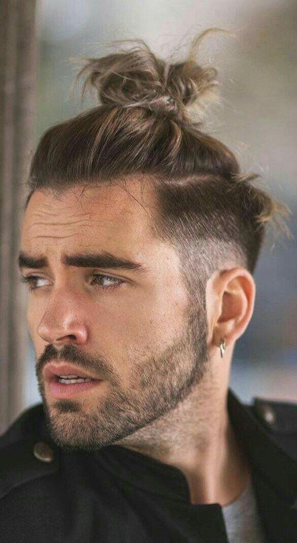 Pin By Ozcan Yaldiz On Men S Hairstyles Curly Hair Men Mens Haircuts Short Hair Mens Ponytail Hairstyles