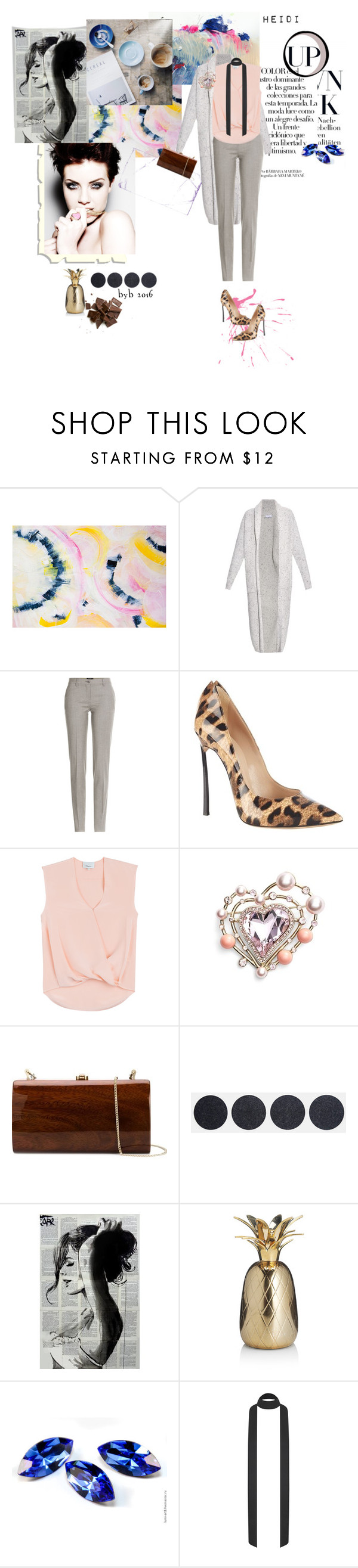 """Heidi"" by hannover ❤ liked on Polyvore featuring Arco, Raey, Etro, Casadei, 3.1 Phillip Lim, St. John, Rocio, women's clothing, women and female"
