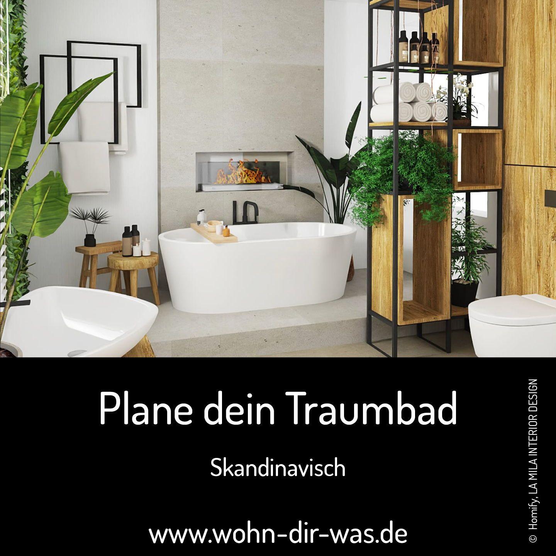 Finde Jetzt Dein Traumbad Wertvolle Tipps Von Der Planung Bis Zur Umsetzung In 2020 Badezimmer Skandinavisches Badezimmer Bad