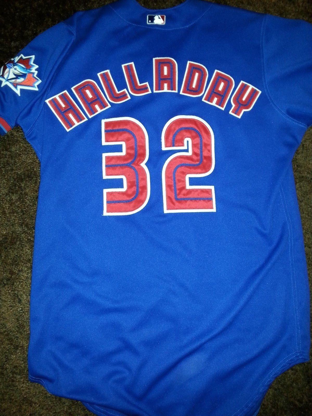 7accf59267e Roy Halladay 2000 Toronto Blue Jays Game Used Jersey