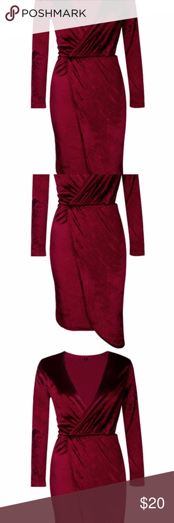 Velvet long sleeve elegant mini dress velvet long sleeve elegant