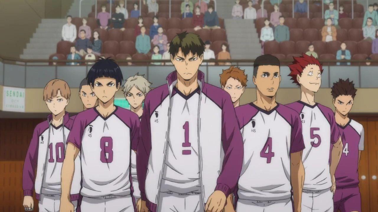 Haikyu third season karasuno high vs shiratorizawa