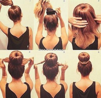 How To Use A Hair Donut Hair Braid Bun Tutorial Hair Styles Long Hair Styles