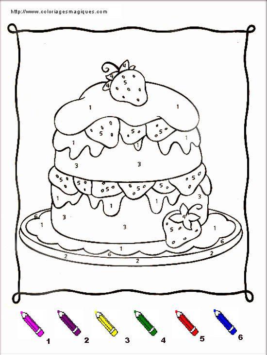 Coloriages magiques charlotte aux fraises lucy - Coloriage magique maternelle ms ...