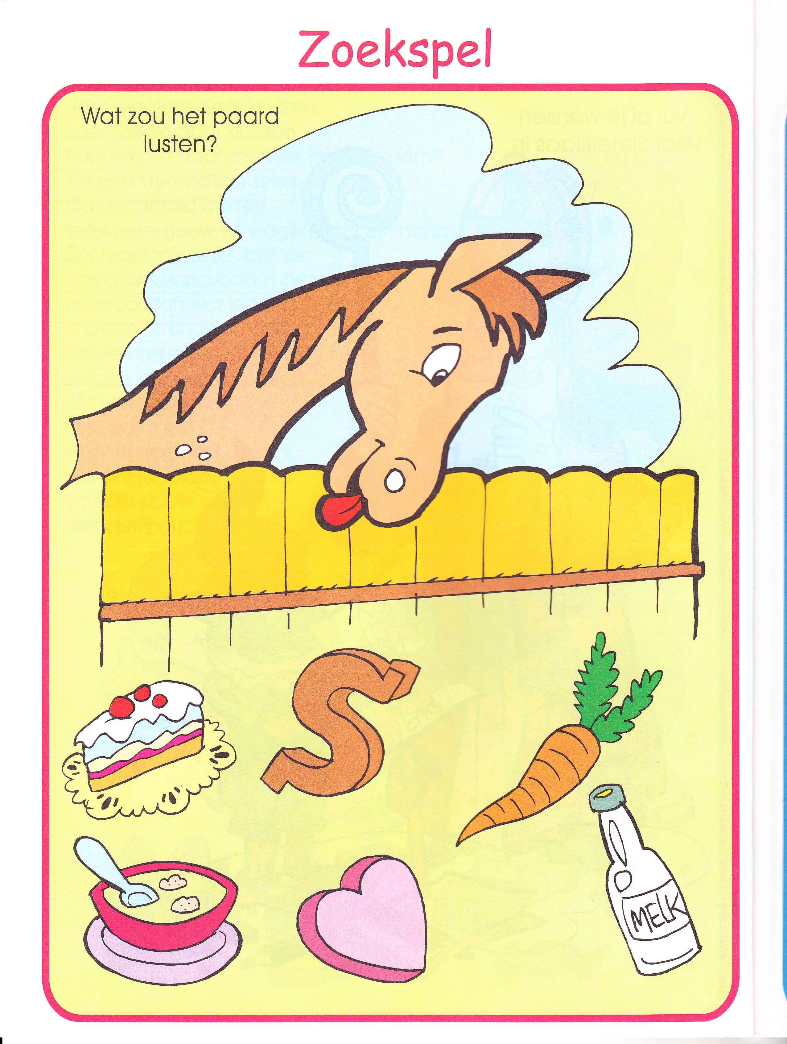 Wat Eet Het Paard Paarden Dieren Thema